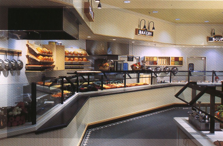 Restaurant millwork projects completed by pacific westline